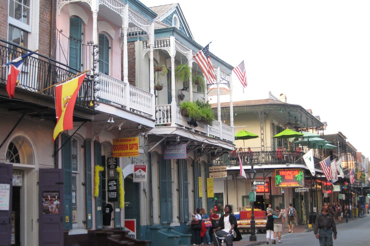 French Quarter Stadtviertel in New Orleans