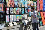 Im French Quarter kann man auf den Straßen einzigartige Kunst bestaunen.