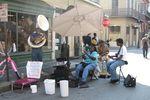 New Orleans: Musiker im French Quarter
