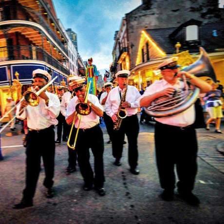 Parade im French Quarter