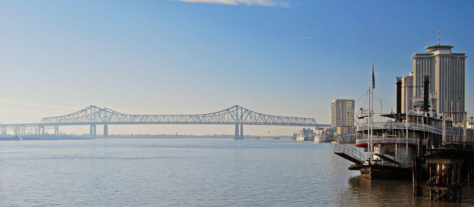 Der Mississippi in New Orleans