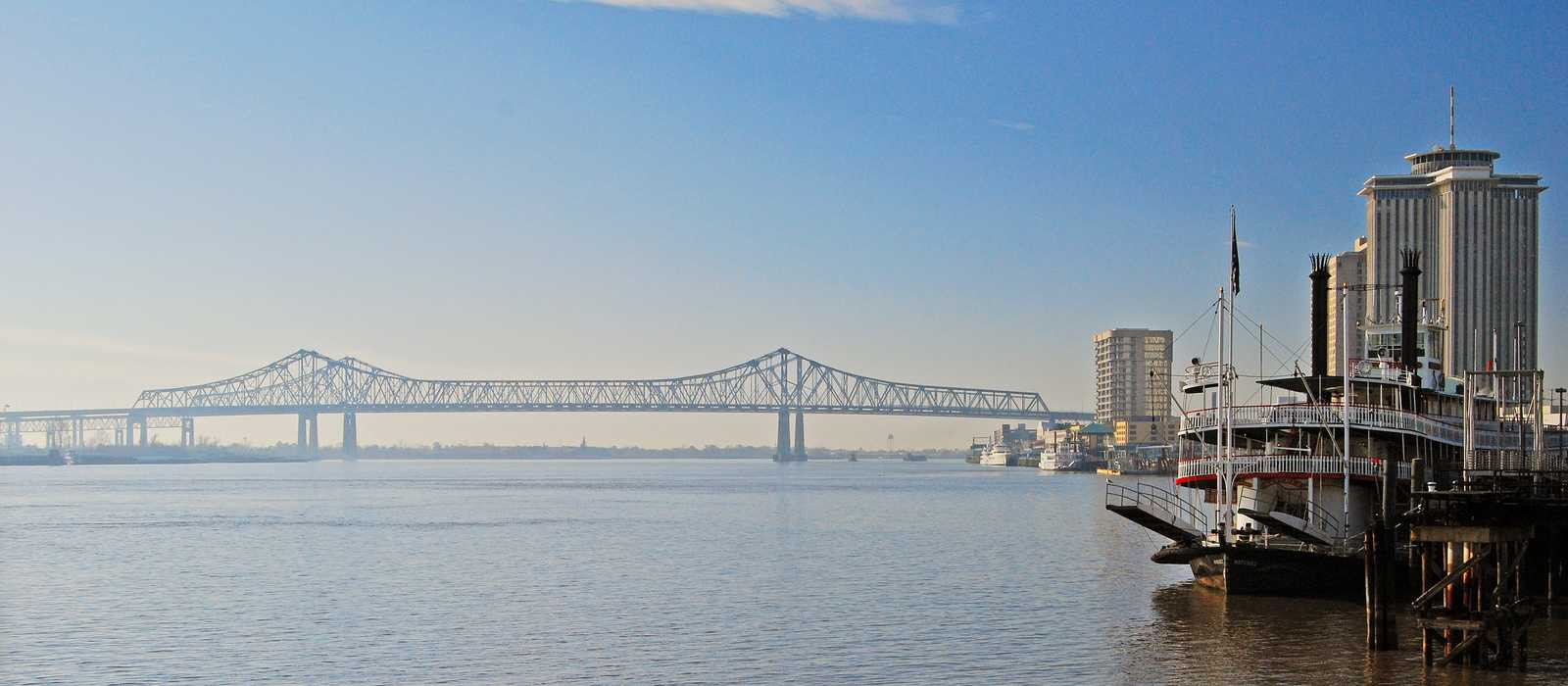 Der Mississippi in New Orleans