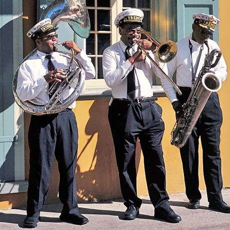 Jazzmusiker in New Orleans
