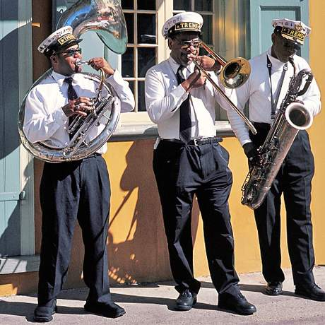 Jazzmusiker in New Orleans