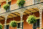 Auch die Architektur New Orleans beeindruckt.