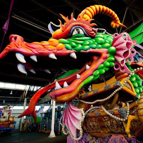 Mardi Gras World Dragon New Orleans
