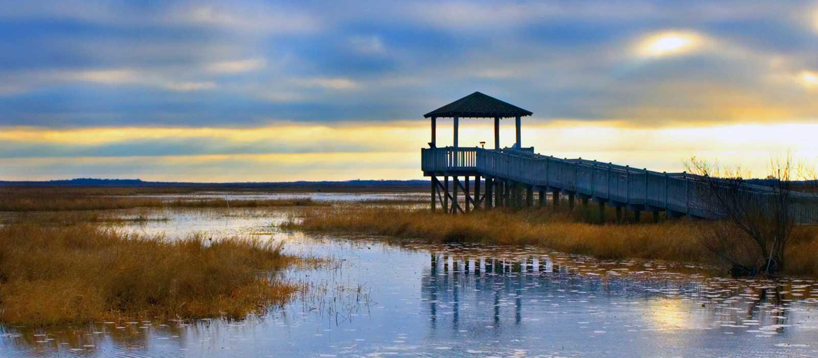 Lacassine National Wildlife Refuge in Louisiana