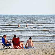 Strandleben in Biloxi