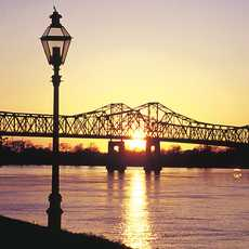 Brücke bei Natchez