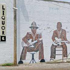 Wandmalerei in Clarksdale