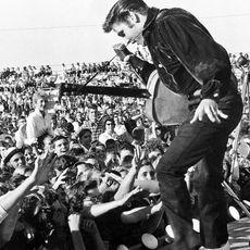 Elvis Presley im Konzert