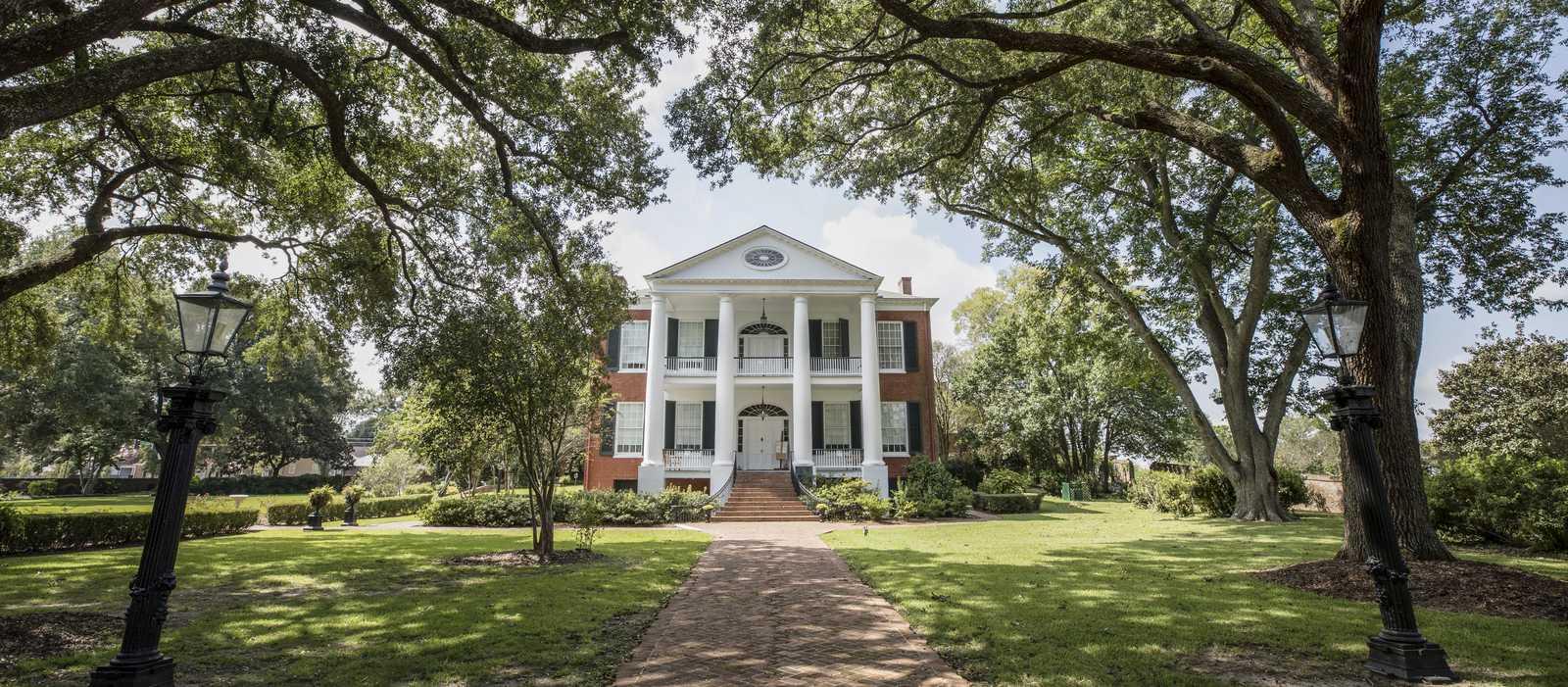 Die Melrose Mansion von Melrose Estate im Natchez National Historical Park