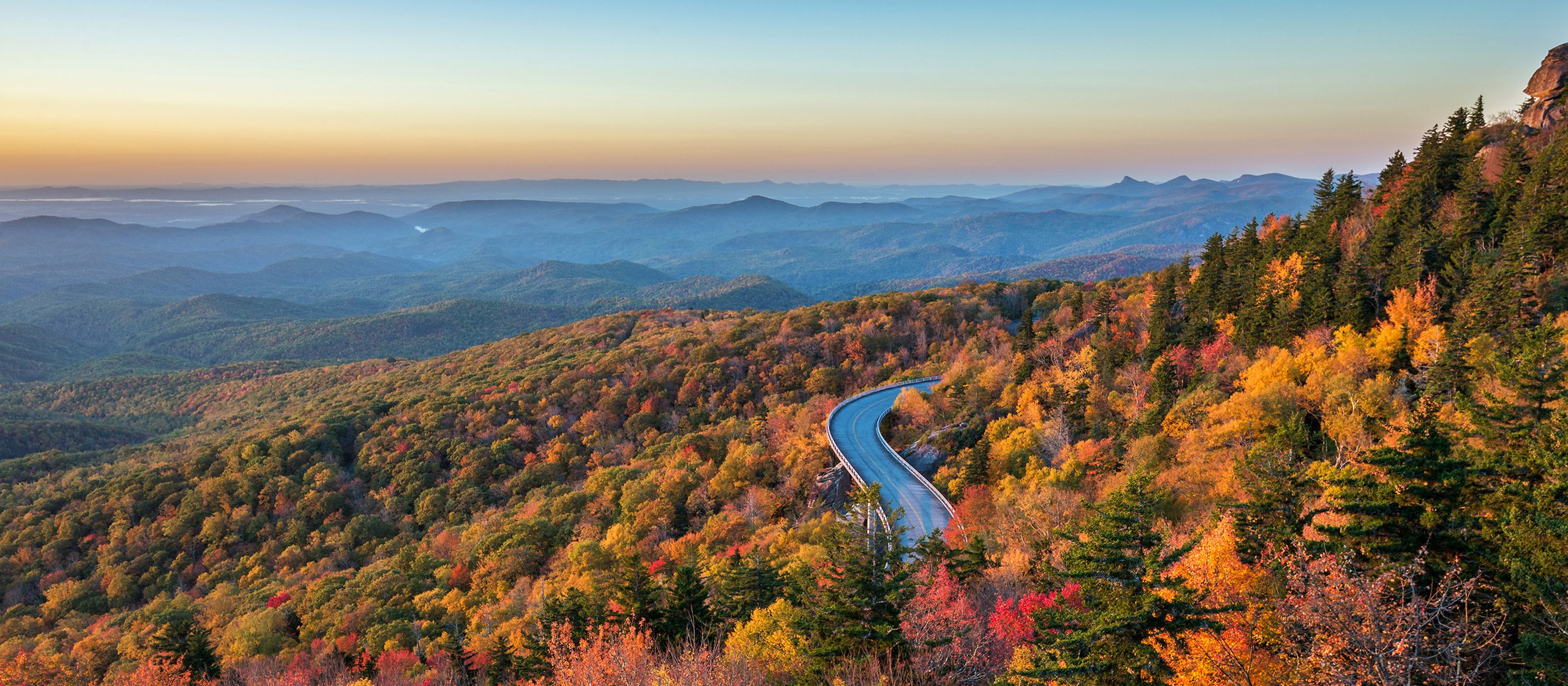 Linn Cove Viaduct, North Carolina