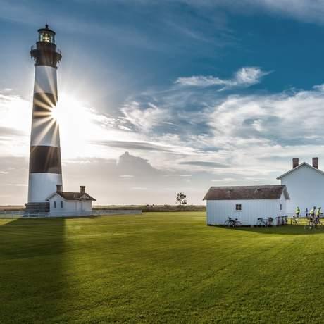 Der Leuchtturm auf Bodie Island