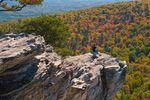 Besuch im Hanging Rock State Park