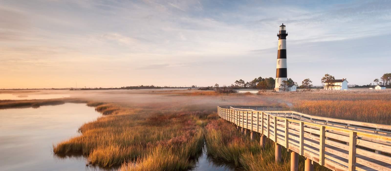 Leuchtturm auf Bodie Island