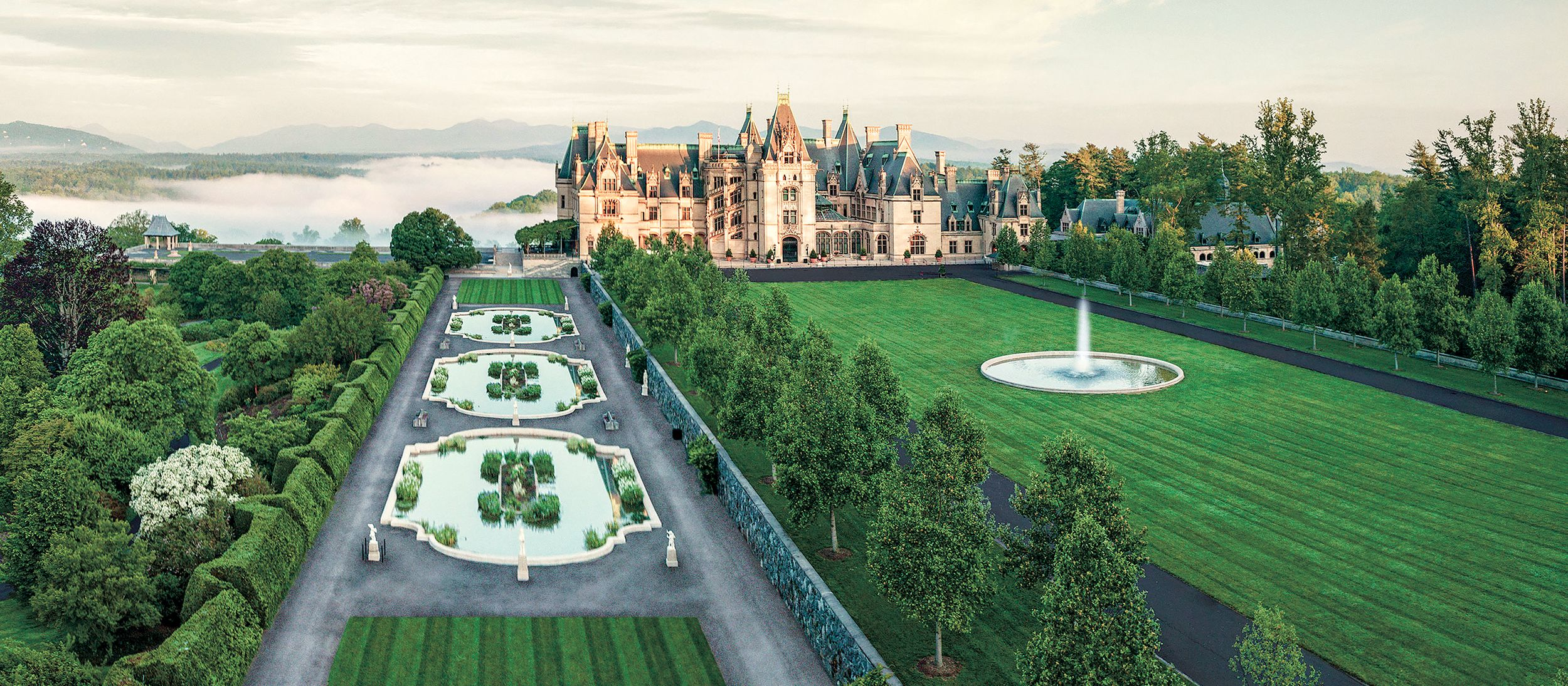 Biltmore House & Gardens in North Carolina