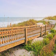 Topsail Beach in North Carolina