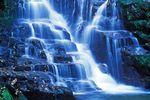 Connestee Falls Wasserfall in North Carolina