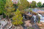 Der Greenville Falls Park