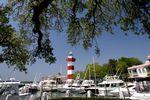 Leuchtturm und Yachthafen der Hilton Head Island
