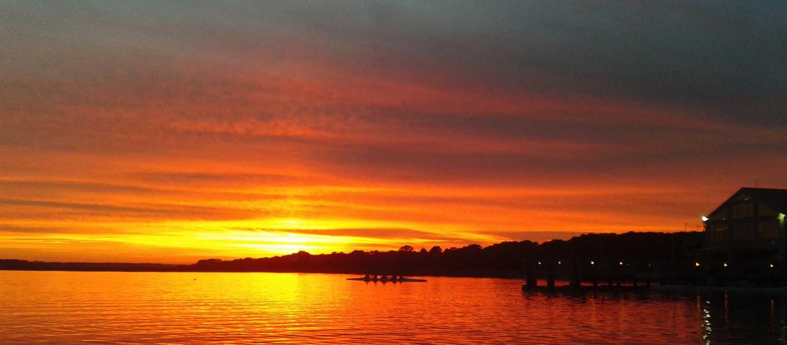 Sonnenuntergang auf Hilton Head Island