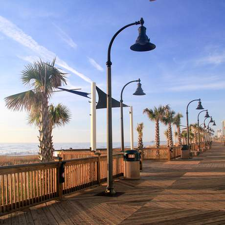 An der Strandpromenade von Myrtle Beach in South Carolina / © Jeff Gandy
