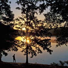 Abendstimmung im Natches Trace State Park