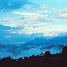 Landschaft in den Great Smoky Mountains