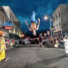 Action in der Beale Street