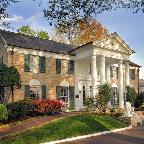 Graceland - Das ehemalige Wohnhaus des verstorbenen US-amerikanischen Sängers Elvis Presley