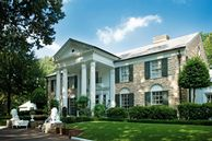 Altes Herrenhaus in Memphis im Südstaatenstil, Memphis, Tennessee, USA