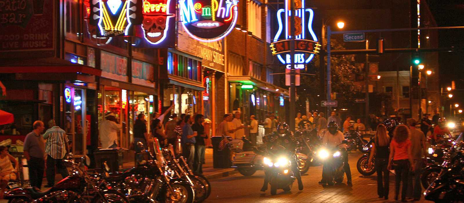Abend auf der Beale Street