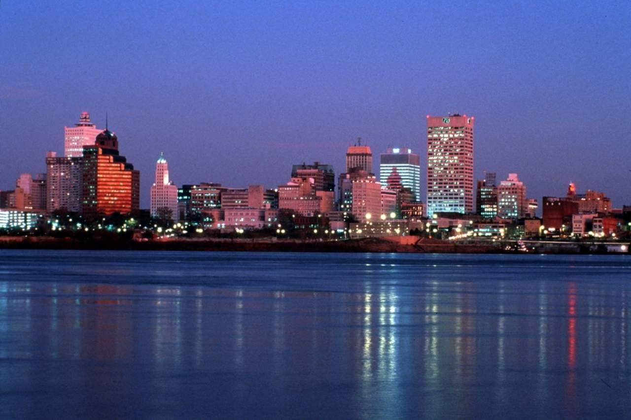Memphis bei Nacht
