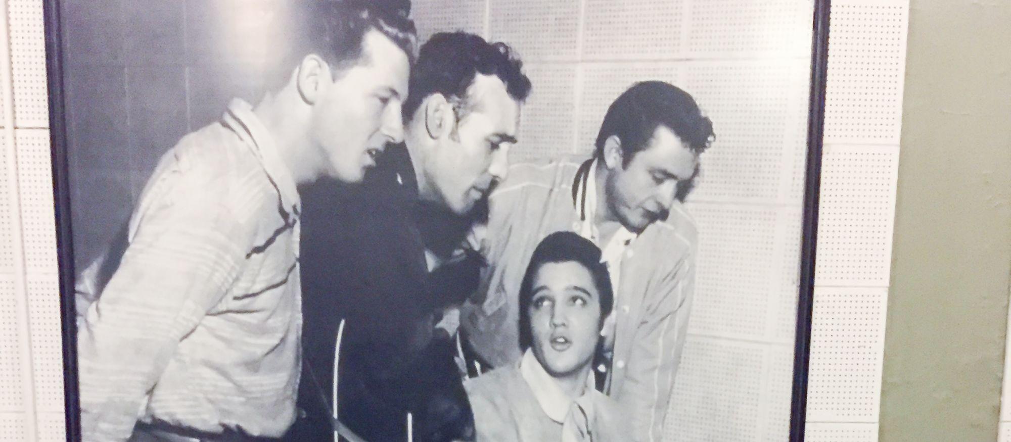 Elvis in den Sun Studios
