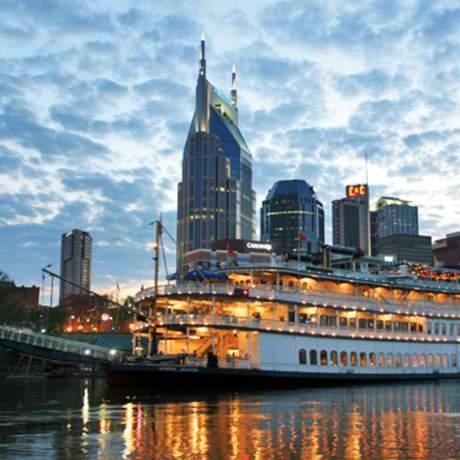 Nashville am Abend