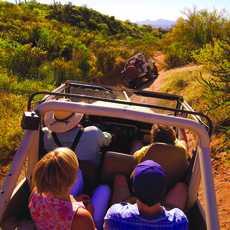 Barlett Lake Jeep Tour, Arizona in der Nähe von Scottsdale