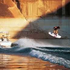 Wassersport auf dem Lake Powell, Arizona