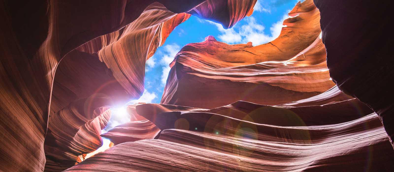 Der Antelope Slot Canyon