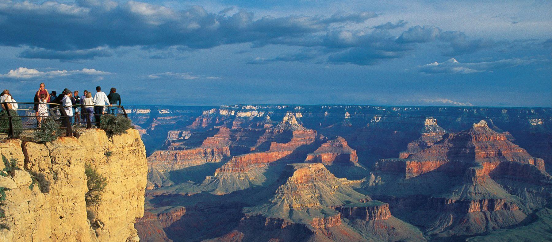 Blick auf den Grand Canyon National Park, Arizona