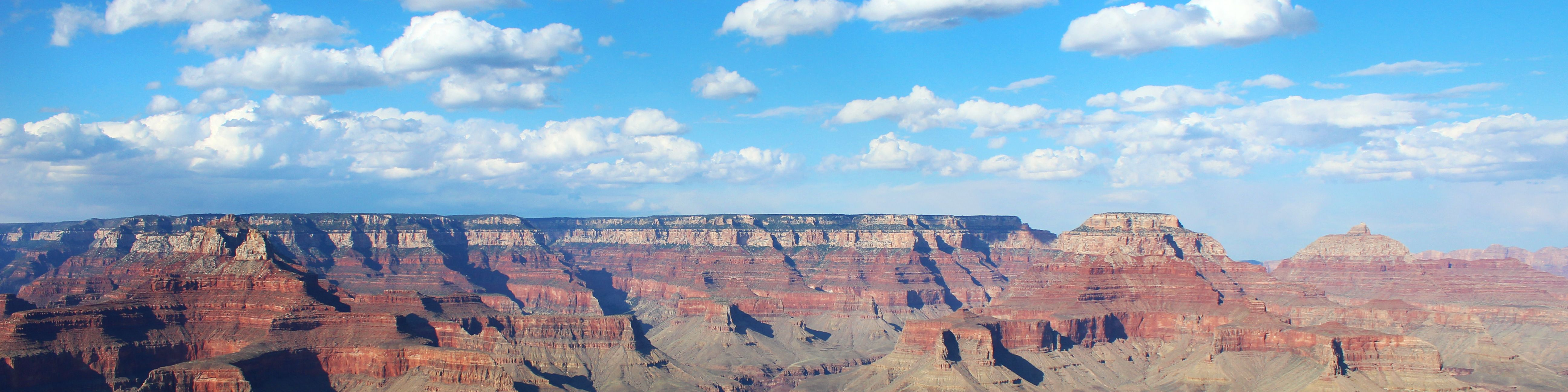 Grand Canyon Weite