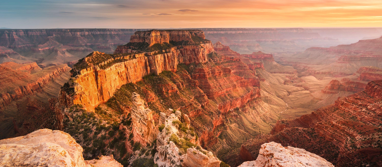 Die wunderschöne Landschaft des Grand Canyon National Park