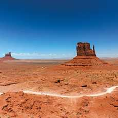 Blick in das Monument Valley