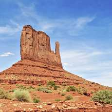 Tafelberg im Monument Valley