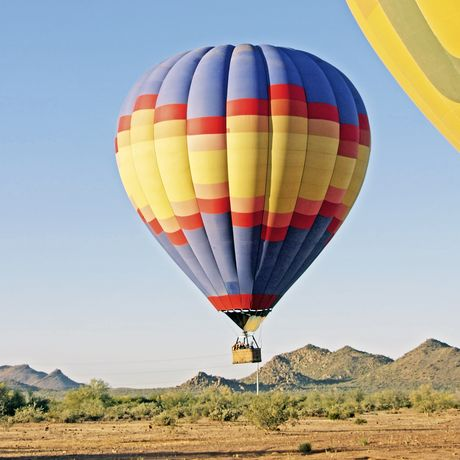 Heissluftballon in Arizona