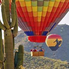 Heissluftballonflug