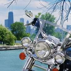 Harley an der ROute 66
