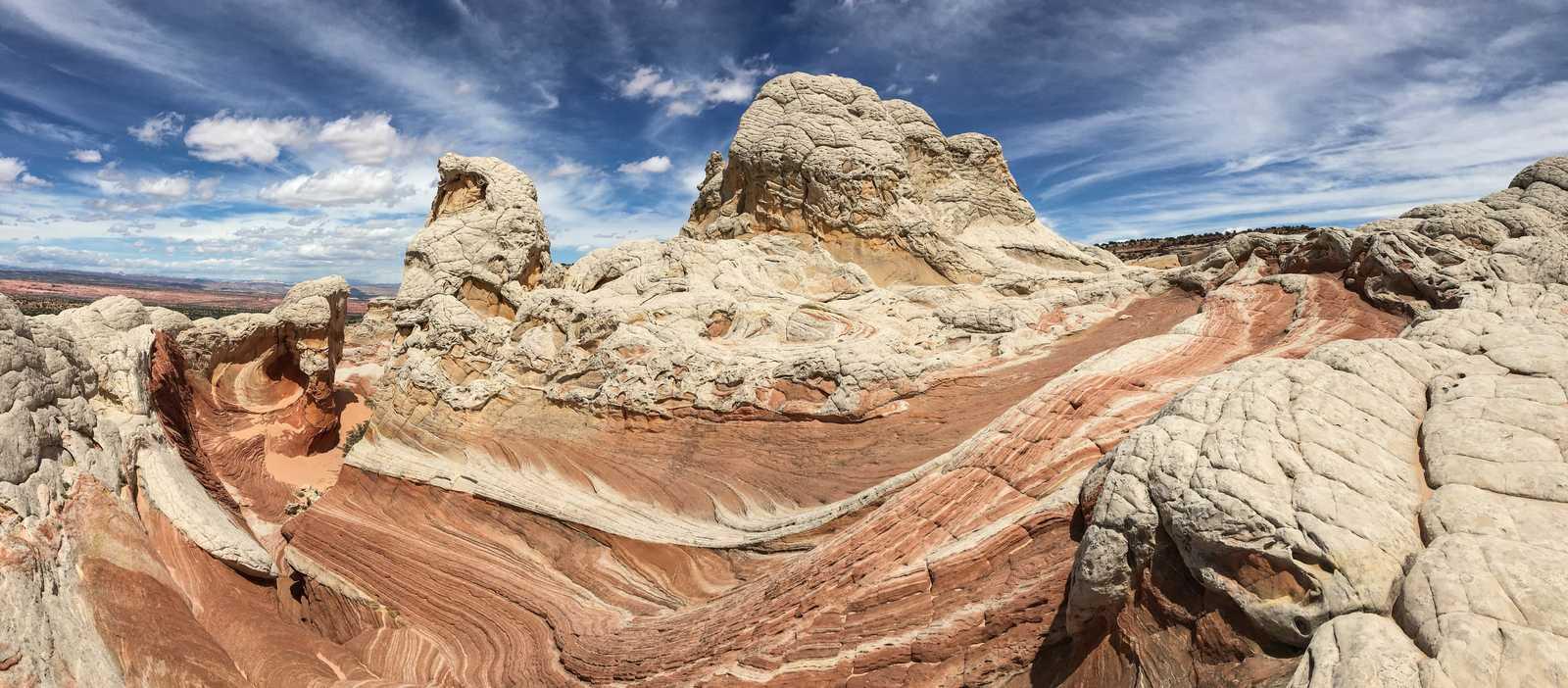 White Pocket im Vermillion Cliffs National Monument in Arizona