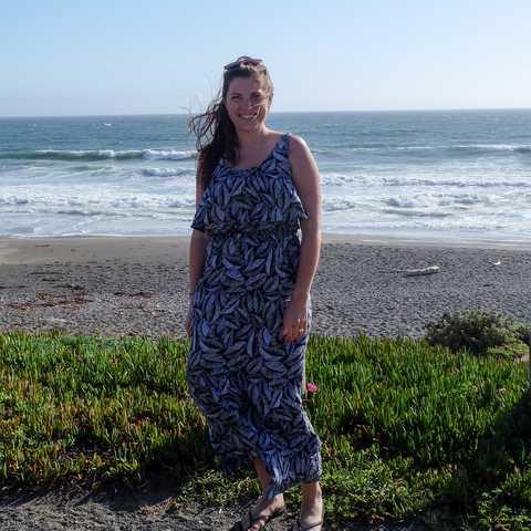 Mitarbeiterin Marie in Kalifornien
