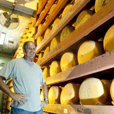 Central Valley, Modesto, Fiscalini Cheese, owner John Fiscalini